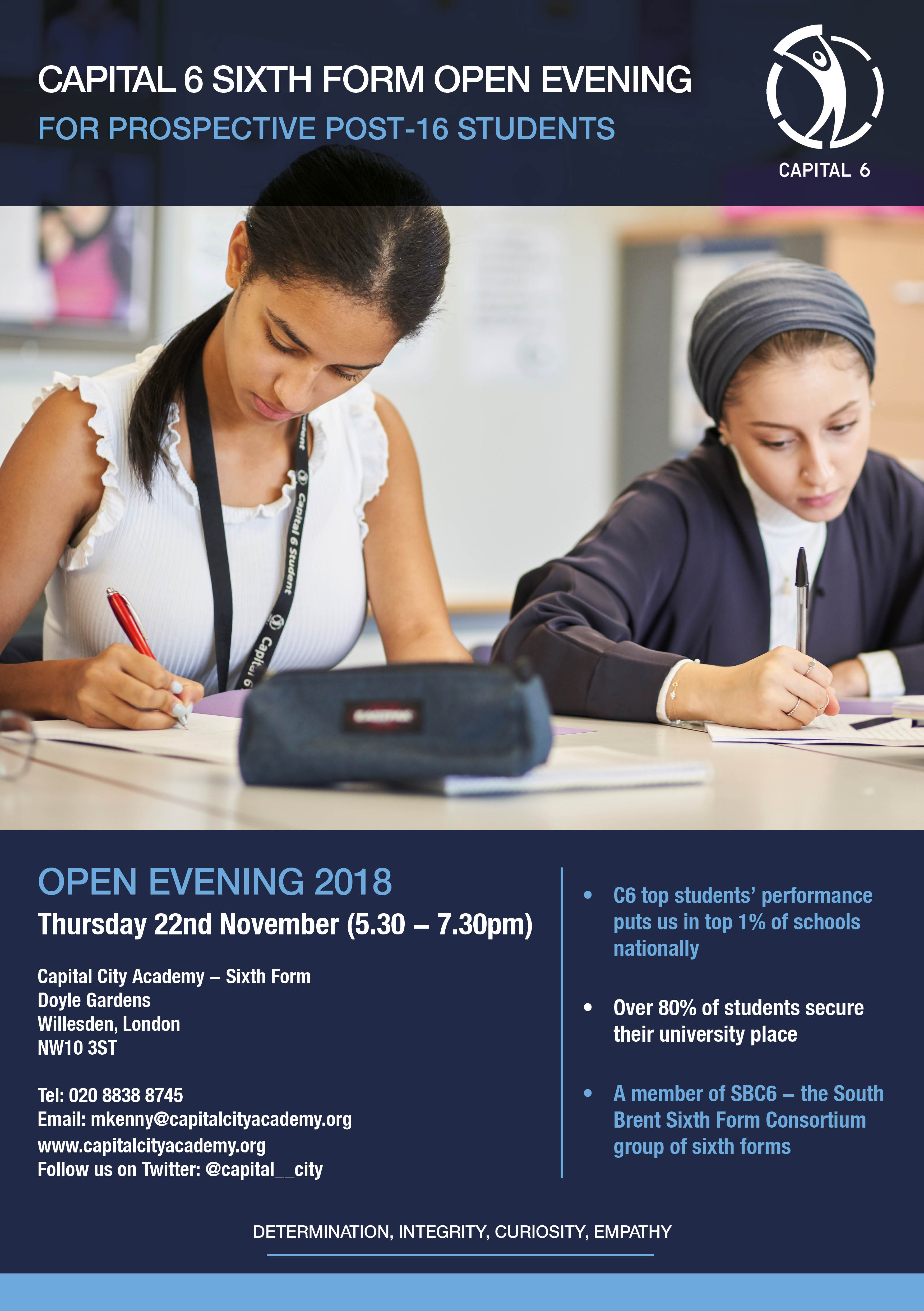 C6 Open Eve Flyer 2018 FINAL