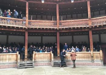 History GCSE Trip to the Globe Theatre