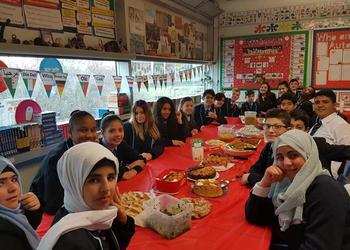 Christmas and Nativity celebration with the EAL department
