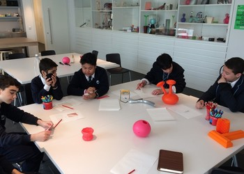 Year 9 3D Design students visit the Design Museum