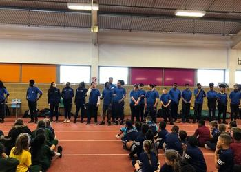 Indoor Sportshall Athletics tournament for Year 3 and 4
