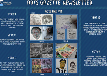Art Gazette - Spring Term 2019