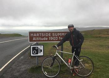 Coast to Coast Charity Cycle Ride for the 'Flutterby Fund'