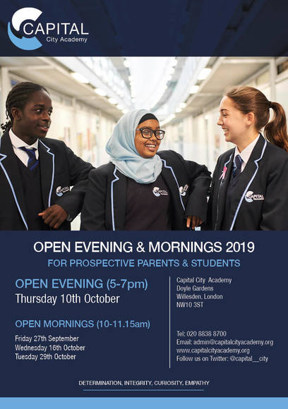Open Evening & Morning 2019 Flyer FINAL