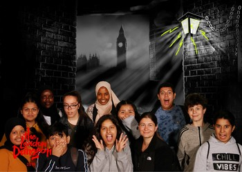 Toe-by-Toe mentors and mentees enjoy a reward trip to The London Dungeon