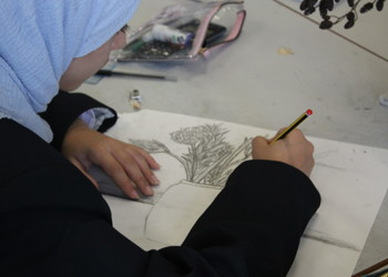 Year 9 Visual Art class begins