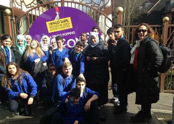 EAL trip to the Roald Dahl museum