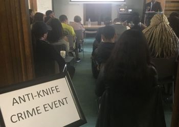 'Say No to Knife Crime' Event