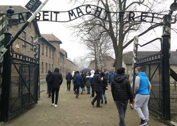 Capital 6 History trip to Auschwitz to learn about the Holocaust