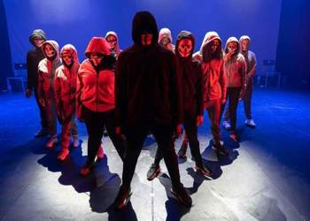 GCSE Performing Arts students work with Chickenshed Theatre Company