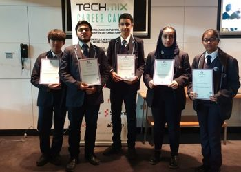 TECHMIX Award Ceremony at the Wembley Stadium