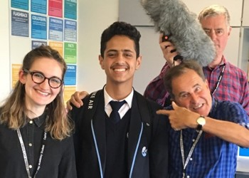Capital City students on the BBC (again!)
