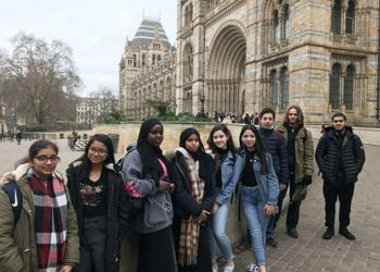 Year 11 Top-Performers' Trip to the Natural History Museum