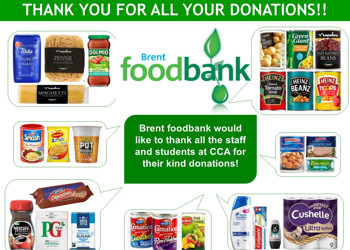A massive 'Thank You' from Brent Food Bank