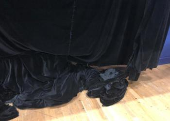 Help us replace our theatre curtain!