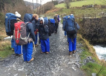 Year 7 'Go Forward' Outward Bound Trip to Aberdovey, North Wales