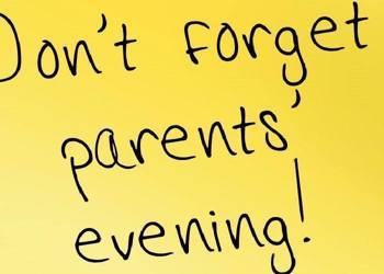 Upcoming Parents' Evenings on School Cloud