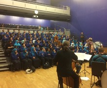 Royal Philharmonic Orchestra came in to launch the 7UP programme