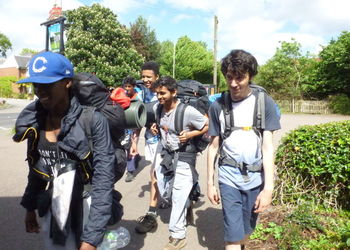 Silver Duke of Edinburgh's award expedition