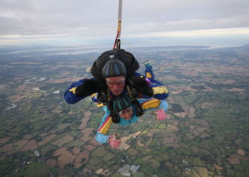 Ms Hirani's Charity Skydive