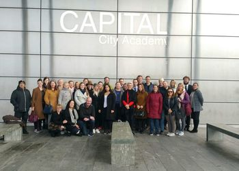 Capital is privileged to welcome teachers from the Allergot School in Norway