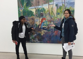 A-Level Art student trip to see Jamie Hewlett and Saatchi Gallery Trip