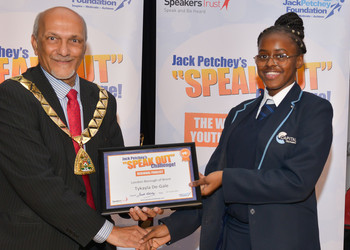 Jack Petchey Speak Out Regional Final