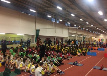 Capital hosts Brent Primary Indoor Athletics competition