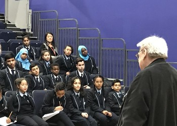 Sir Alan Parker inspires cast of Bugsy ahead of this week's performance