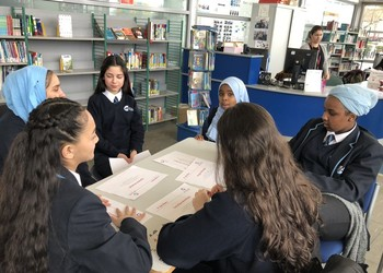 Year 9 students welcome Box2tech ladies to Capital