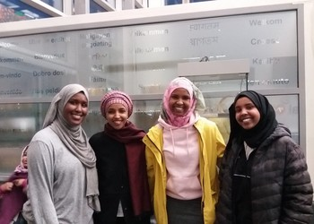 Minnesota House Representative, Ilham Omar visits Capital