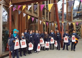 Year 7 visit the London School of Economics to learn about university life