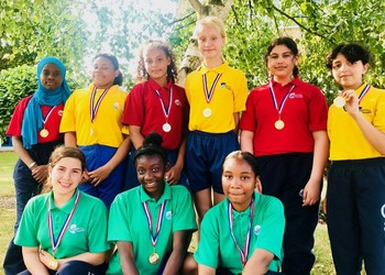 Year 7 Girls' crowned Brent Rounders Champions 2018!