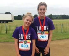 Trophy picture lupus charity fun run july 2017