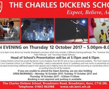 Cds open evening