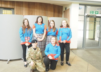 Students pay their respects to Remembrance 2018