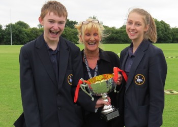 Curie triumph at Sports Day