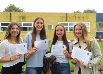 Students Celebrate A level Successes
