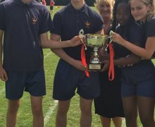 Year 10 sports day winners   CURIE