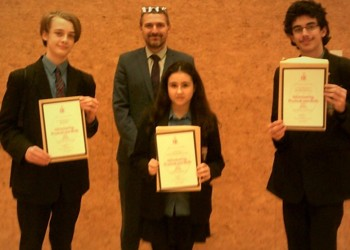 Students Receive Certificate Of Achievement For Bronze DofE Awards