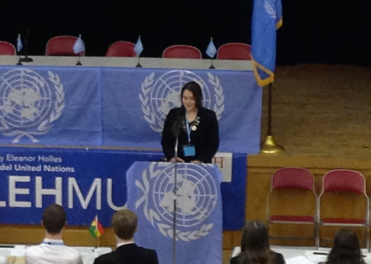 MUN Delegates Impress at Conference