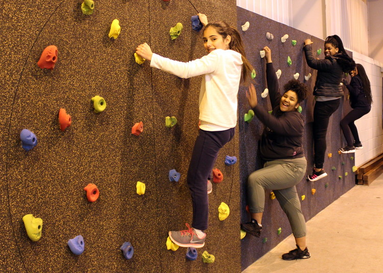 Unicorn Association Fund Climbing Wall