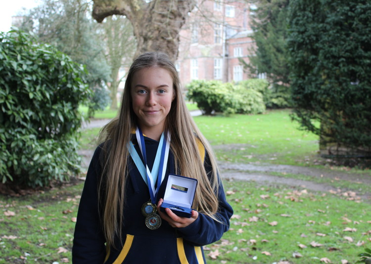 Gold for Maisy in Kent Schools' Championships!
