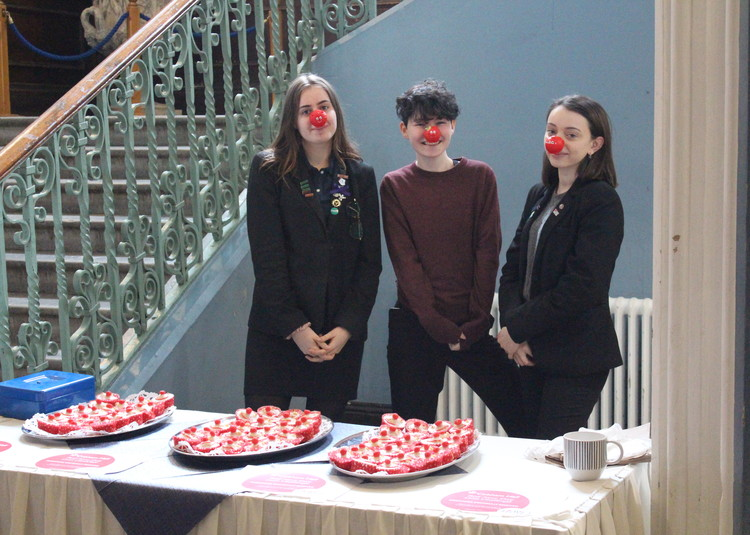 Target Smashed for Comic Relief