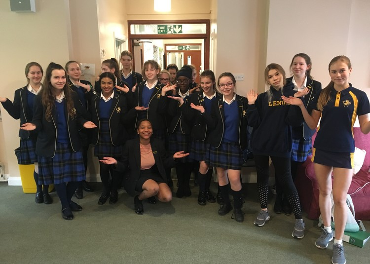Cobham Hall Girls #BalanceforBetter