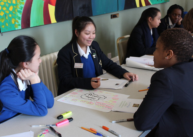 Girls become Wellbeing Ambassadors