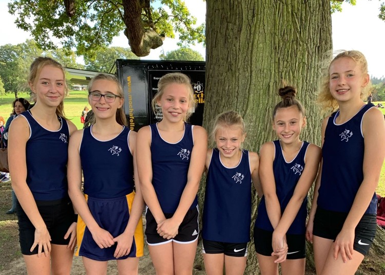 Fourth for Cross-Country Juniors