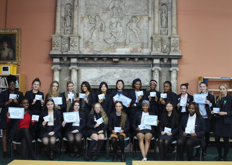 Year 13 Become Dementia Friends