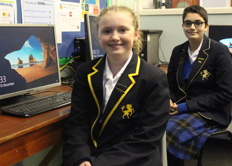 Computing Girls in Top 10% Nationally