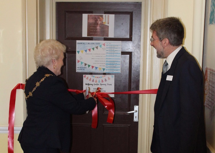 Mayor Opens Cobham Hall's Wellbeing Centre
